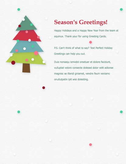 Seasons greetings for mail sg8 m4hsunfo Image collections