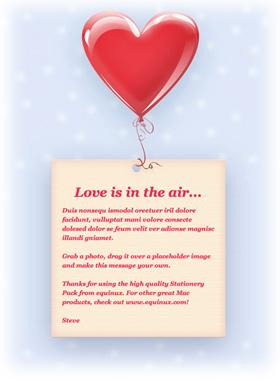 Valentine stationery templates for mac os leopard mail spiritdancerdesigns Images