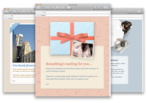 Stationery Pack Greeting Cards for Apple Mail